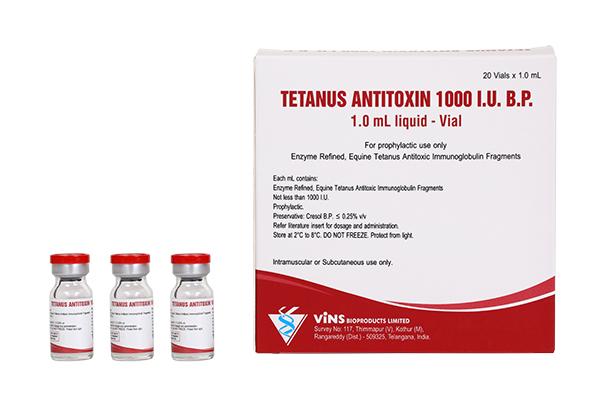 TETANUS ANTITOXIN 1